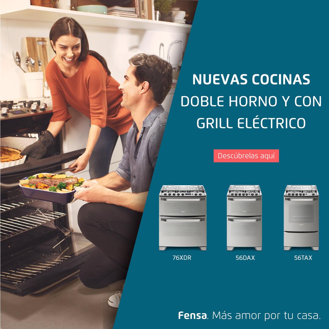 Nuevas cocinas doble horno