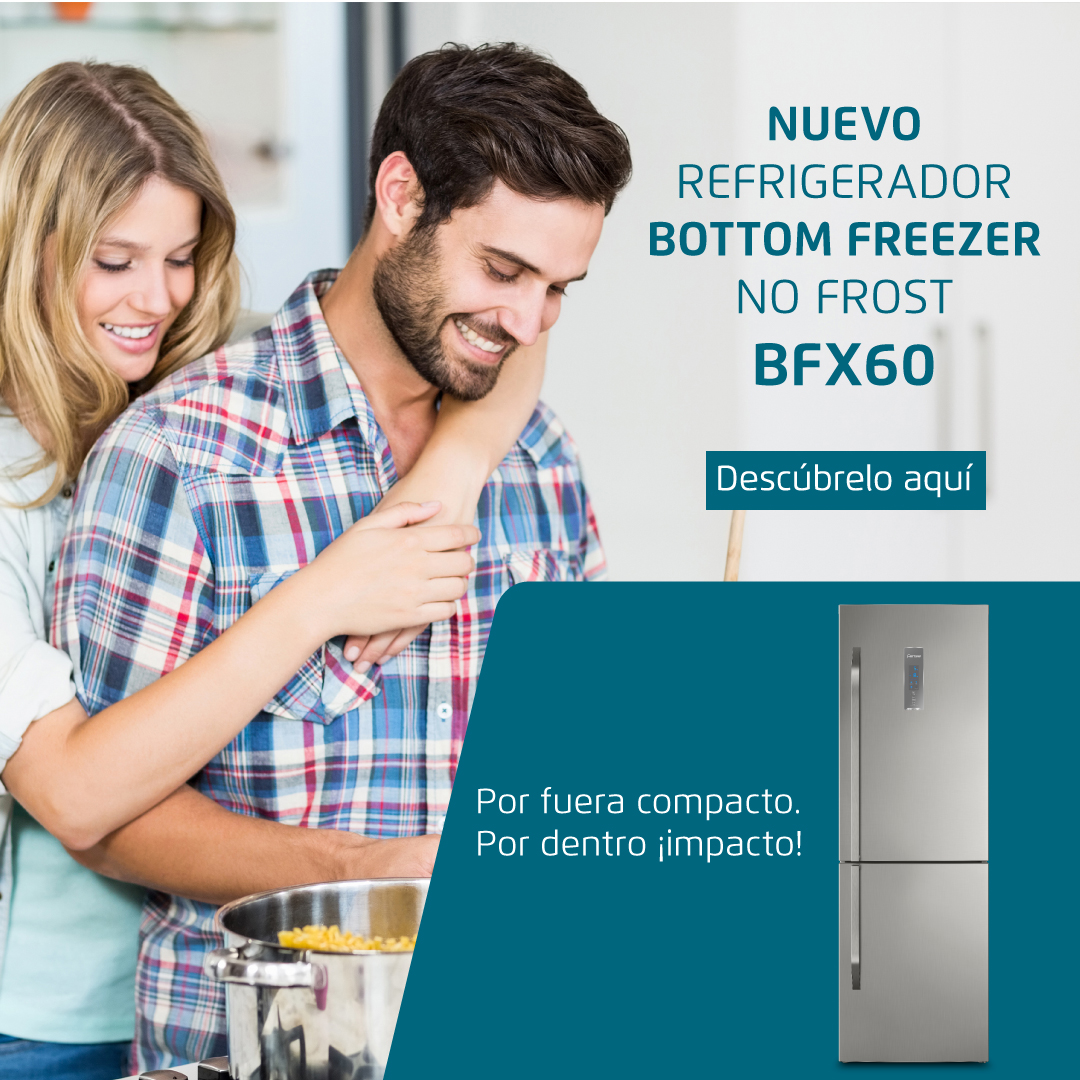 Nuevo refrigerador Fensa BFX60